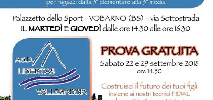 L'atletica giovanile ritorna in Vallesabbia