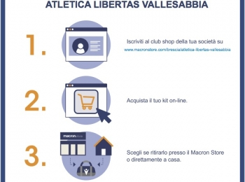 Club Shop Atletica Libertas Vallesabbia