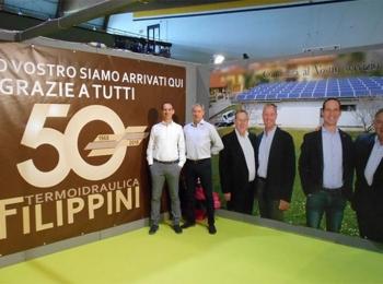 Mezzo secolo d'impresa per il nostro sponsor Termoidraulica Filippini