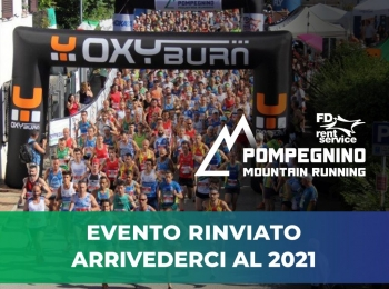 Fd Rent Pompegnino Mountain Running: Arrivederci al 2021