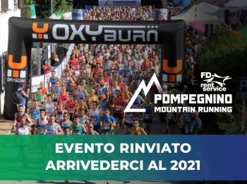 Fd Rent Pompegnino Mountain Running: Arrivederci al 2021